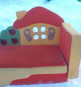 Детский диван раздвижной