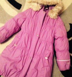 Пальто lenne зимнее