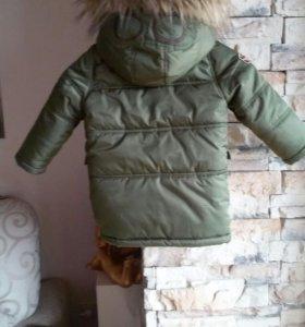 Детская зимняя куртка ,Ю.Корея