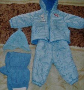 Тепленькая курточка и штанишки