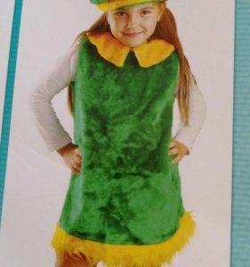 Карнавальный костюм лягушки на девочку 2-4 года