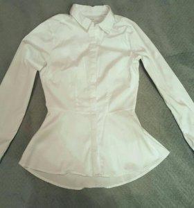 Рубашка белая хлопок новая