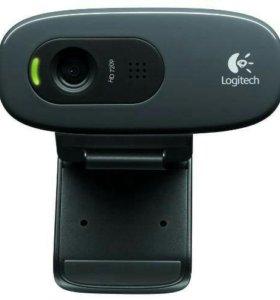 Веб-камера Logitech C270 1280x720, микрофон, USB 2