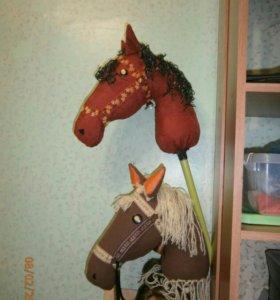 Лошадка-скакалка игрушка для подвижных игр