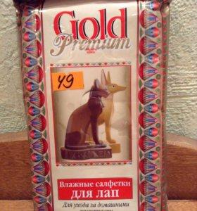Влажные салфетки для лап собак и кошек