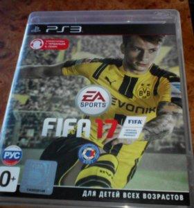 Игровой диск на PlayStation 3, игра Fifa 17