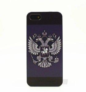 """Чехол для iPhone 5 5S """"Россия"""""""