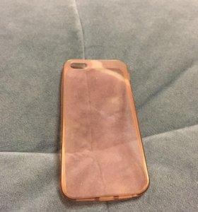 Силиконовый Чехол на iPhone 5, 5s