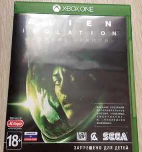 Игра на Xbox one Alien isolation +2 Xbox live gold