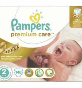 Подгузники Pampers premium care 2