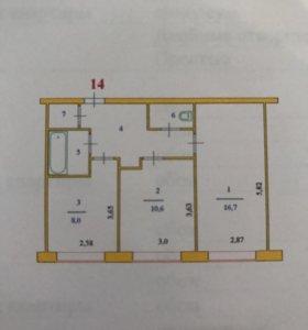 Продаётся срочно 2х комнатная финская квартира