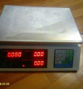 Весы электронные до 30кг
