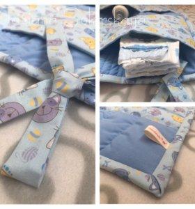 Кармашки на кроватку Мартовские коты