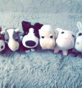 Коллекция плюшевых игрушек