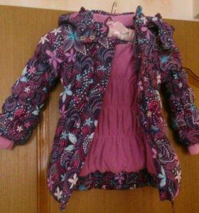 Новая куртка playtoday -5...+10  98