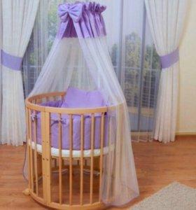 Постельный комплект Comfortbaby к овальной кровати