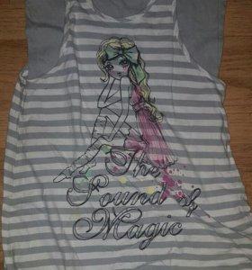 Туника-платье в идеальном состоянии