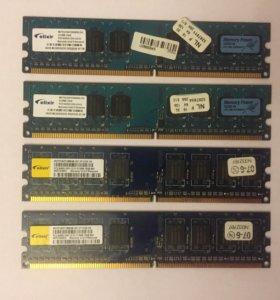 Оперативная память DDR2 elixir 512MB