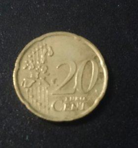 Монета Италии.