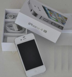 Айфон 4s (белый)