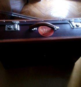 Старинный болгарский чемодан