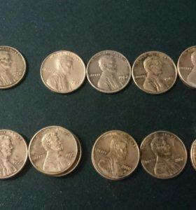 Монета США.