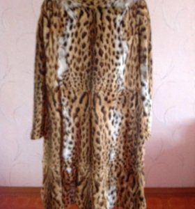 Шуба под леопард