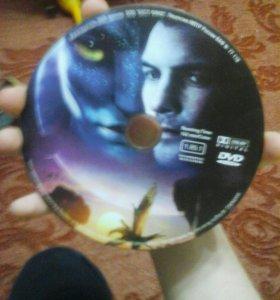 Фильм на диске аватар