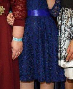 Вечернее платье + украшение