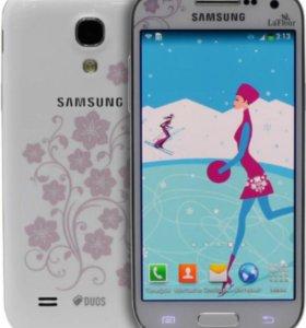 Samsung Galaxy S4 mini duos la'fleur white