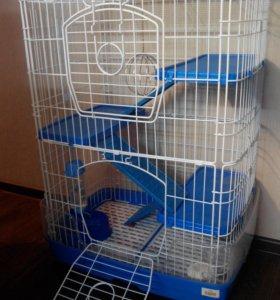 Клетка 4 этажа новая