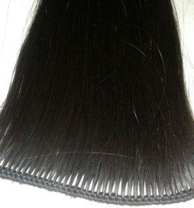 Изготовление тресса (натуральные волосы)