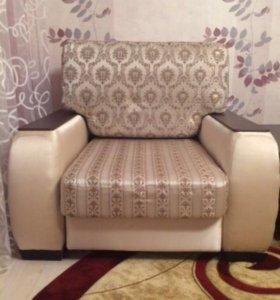 Диван и кресло - кровать.