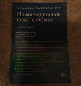 Информационное право в схемах