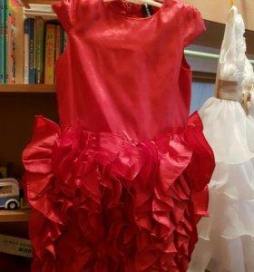 детское платье Акула