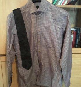 Рубашка с галстуком новая (38)