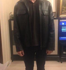 Кожаная куртка новая.
