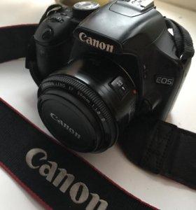 Фотоаппарат полу-проф canon500D