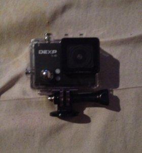 Экшн камера DEXP