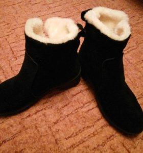Демисезонная, зимняя обувь,полусапожки