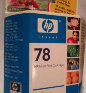 Цветной Картридж для HP  78