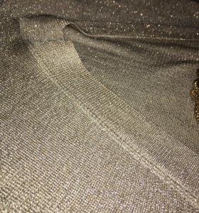 Платье  золотой topshop клатч 👛 new look