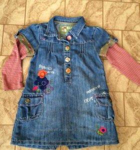 Платье Некст на 2-4 года