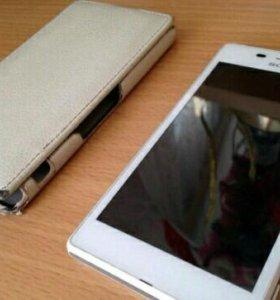 Телефон Sony experia m2 aqua