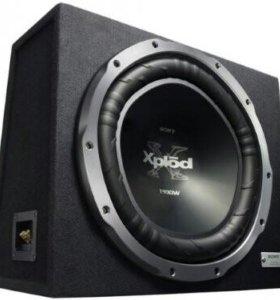 Сабвуфер sony XS-GTX150LE