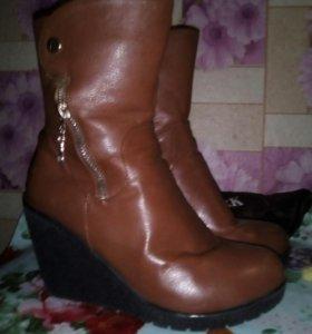 Зимние ботинки!