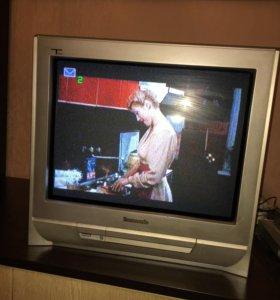 Телевизор + Dvd
