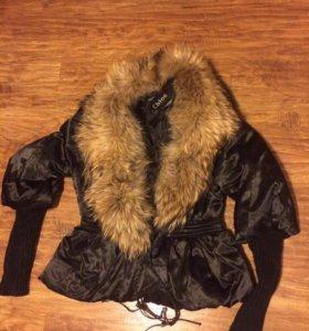 Куртка с лисой Chloe