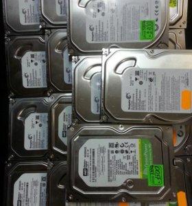 Жёсткие диски в ассортименте + Гарантия
