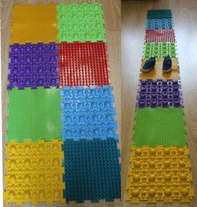 Ортопедический модульный коврик для детей